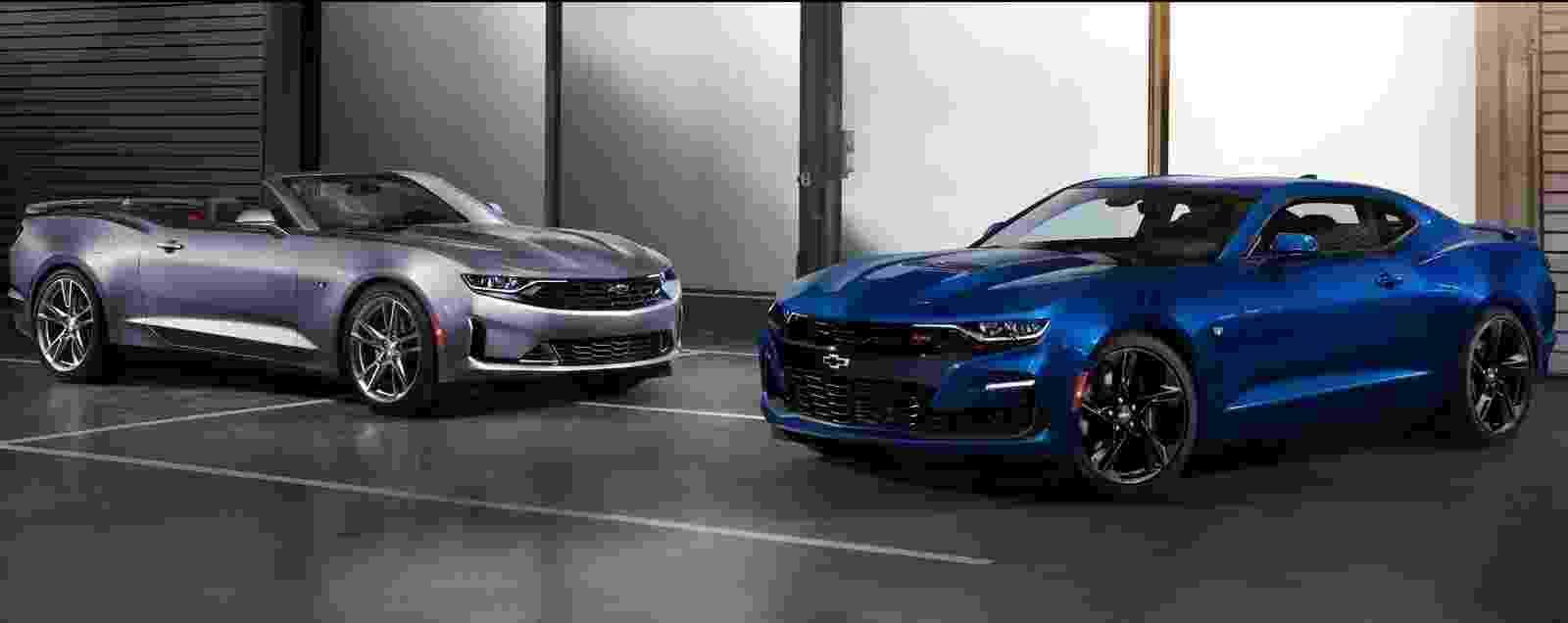 Chevrolet Camaro 2019 - Divulgação