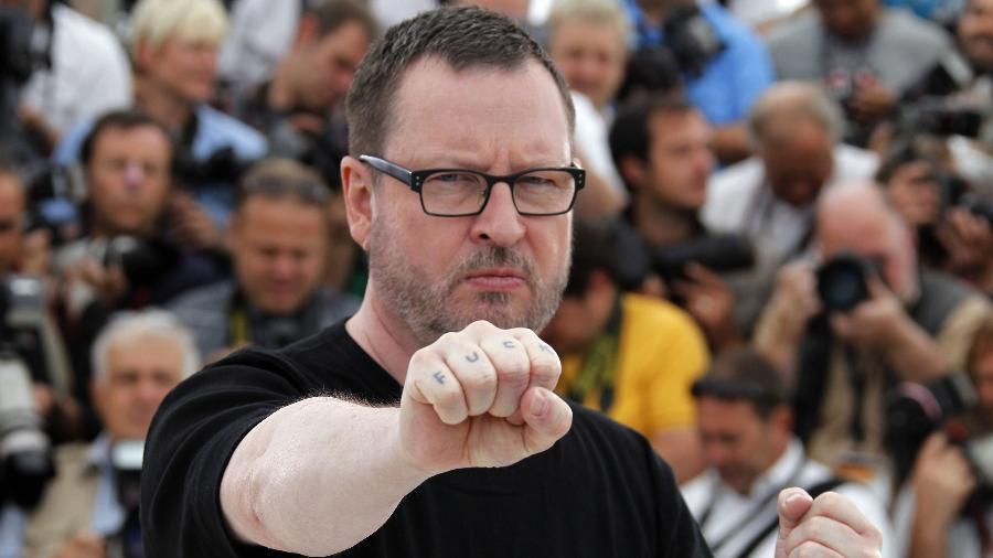 Lars Von Trier no festival de Cannes de 2011 - Francois Guillot/AFP Photo
