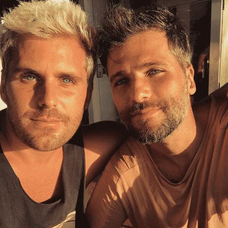 Bruno Gagliasso e o irmão, Thiago - Reprodução/Instagram