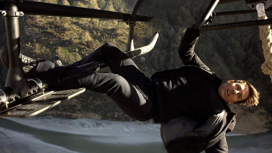 """Tom Cruise em cena do film """"Missão: Impossível - Efeito Fallout"""" - Reprodução"""