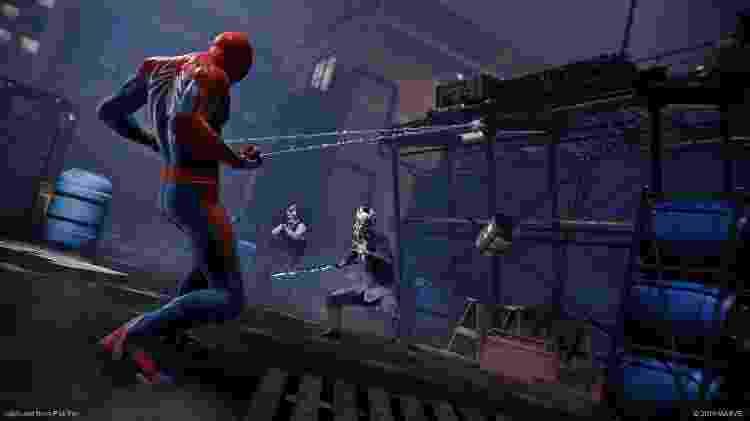 Spider-Man para PS4 - Elementos do Cenário - Divulgação - Divulgação
