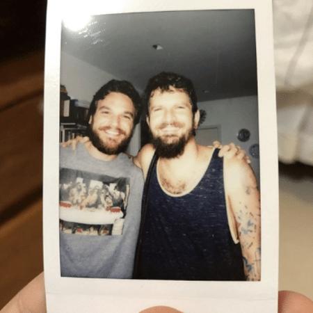Emílio Dantas e Saulo Fernandes - Reprodução/Instagram