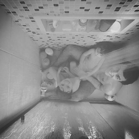 Felipe Simas com Joaquim e Maria - Reprodução/Instagram