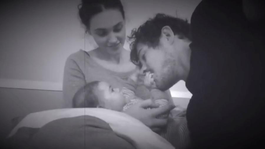 Débora Nascimento, Bella e José Loreto - Reprodução/Instagram
