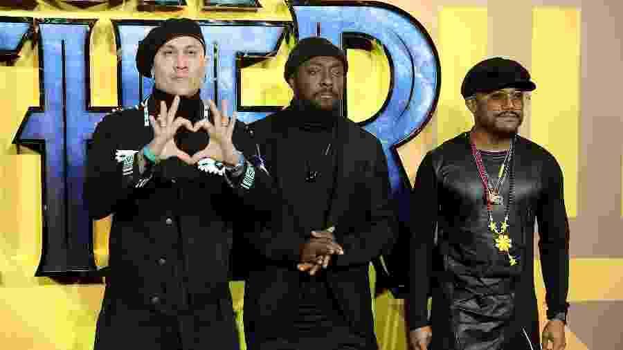 Taboo, will.i.am and apl.de.ap, a formação atual do Black Eyed Peas - Tim P. Whitby/Getty Images
