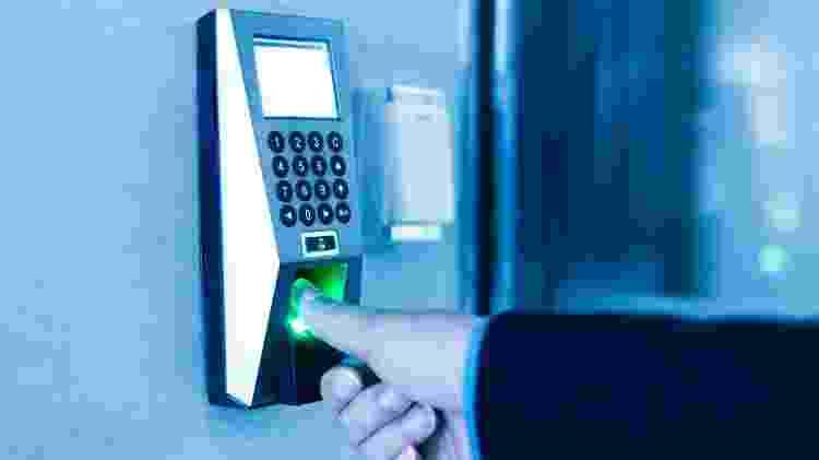 acesso biométrico - iStock - iStock