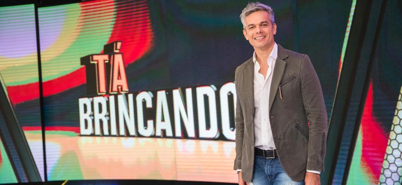 """Otaviano Costa vai apresentar o """"Programa Tá Brincando"""" - Divulgação/TV Globo"""