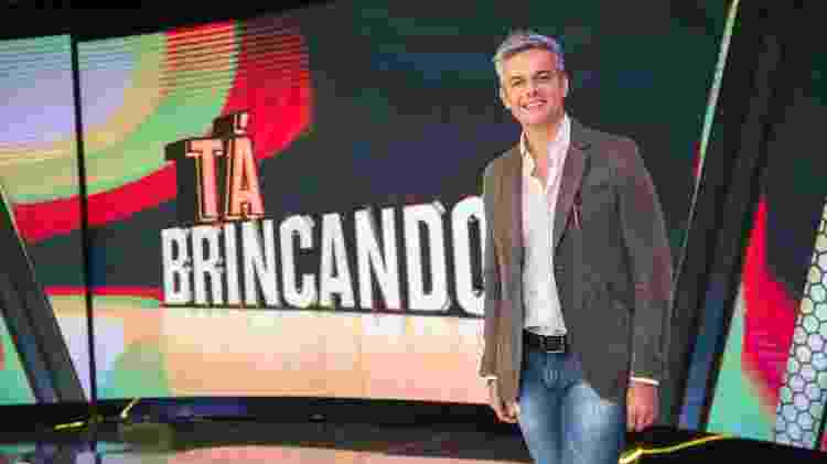 """Otaviano Costa deixou a Globo após o cancelamento do """"Tá Brincando"""" - Divulgação/TV Globo"""