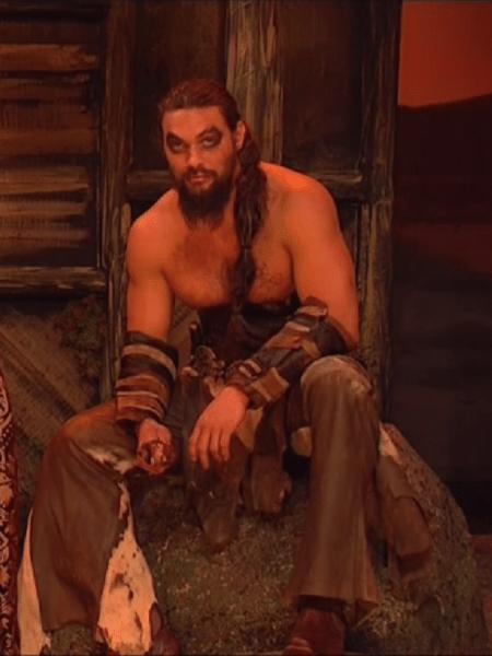 """Jason Momoa reprisa papel de Khal Drogo em """"Game of Thrones"""" - Reprodução"""