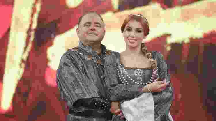 Leo Jaime e Larissa Parison na final da Dança dos Famosos 2018 - Reprodução/TV Globo - Reprodução/TV Globo