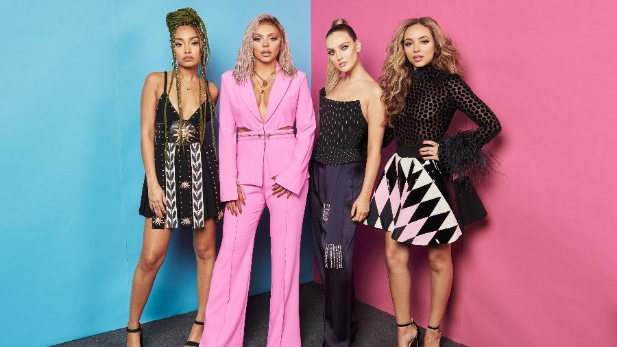 Leigh-Anne Pinnock, Jesy Nelson, Perrie Edwards e Jade Thirlwall, do Little Mix, no MTV EMA 2018 - Gareth Cattermole/MTV 2018/Getty Images for MTV