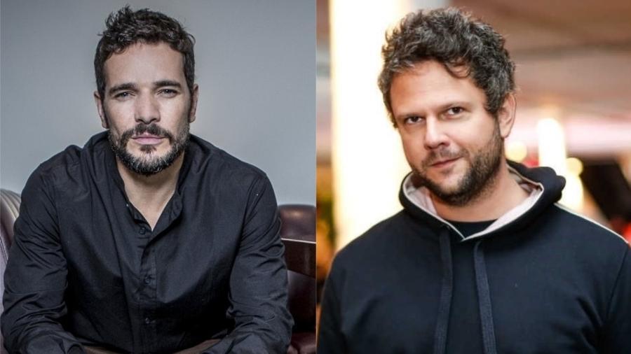 Daniel de Oliveira e Selton Mello - Colagem/UOL