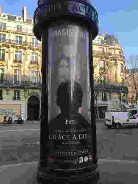 Cartaz do filme é exibido nas ruas de Paris - P.Varón/RFI - P.Varón/RFI