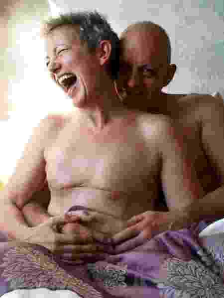 Wendy Dresner e o marido - Reprodução