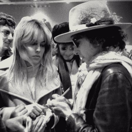 Sharon Stone em Rolling Thunder Revue - Reprodução/Netflix
