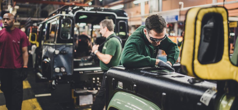 Fábrica da Land Rover em Solihull: Brexit ameaça quebrar indústria - Divulgação
