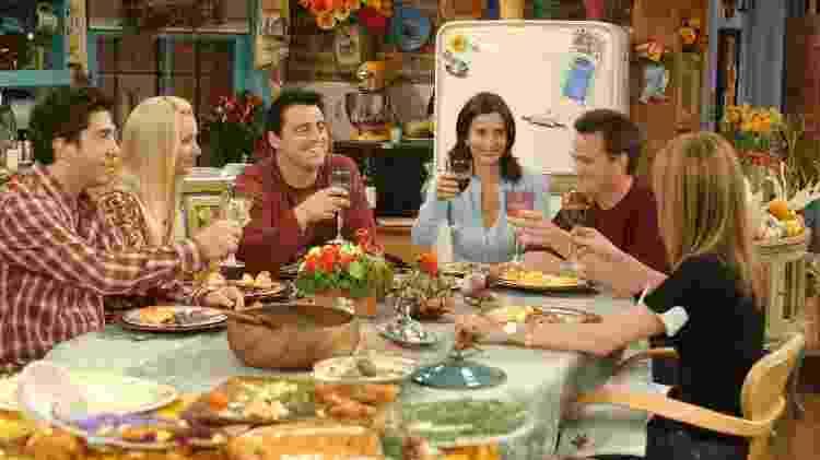 Os episódios de Ação de Graças do seriado Friends são muito queridos pelos fãs - reprodução/Warner/NBC