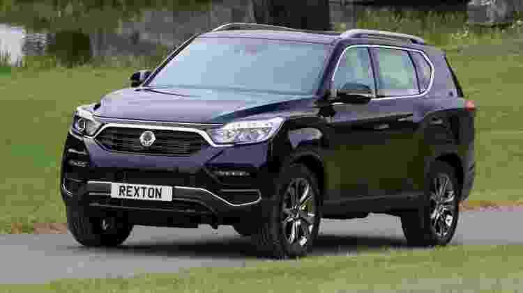 Rexton, SUV de lugares, será lançado até janeiro de 2020 juntamente com a picape Musso, diz executivo - Divulgação