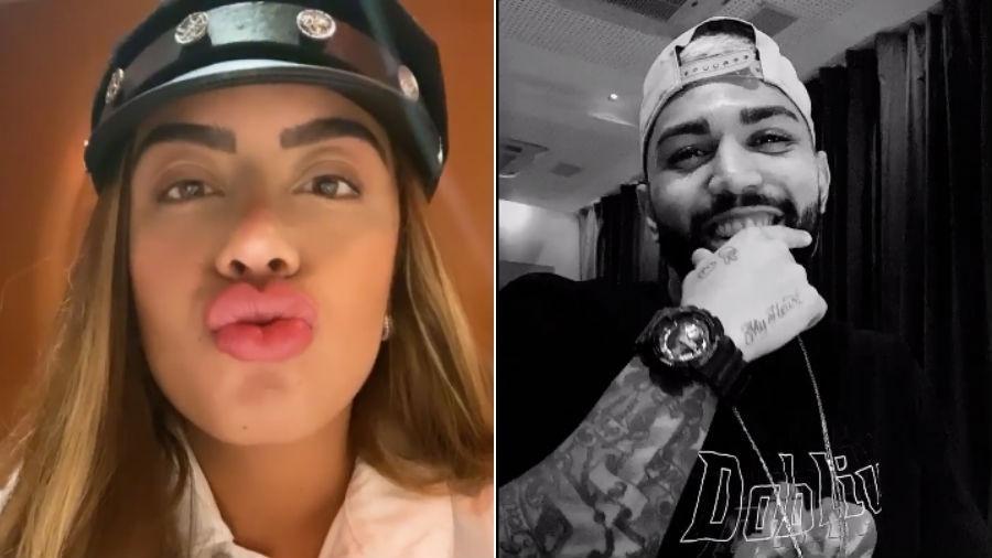Rafaella Santos e o namorado, Gabigol - Reprodução/Instagram