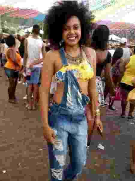 A estudante universitária e líder quilombola Elitânia de Souza da Hora - Arquivo pessoal