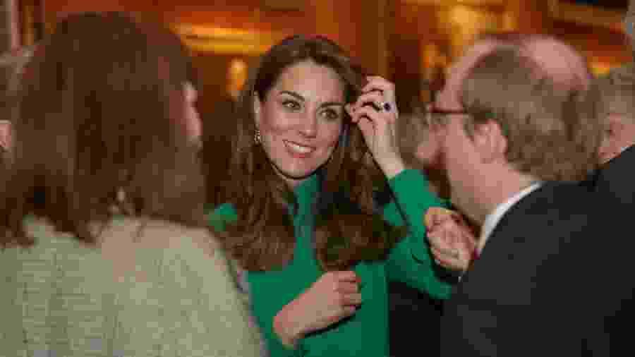 Kate Middleton recebe líderes internacionais no Palácio de Buckingham - Yui Mok - WPA Pool/Getty Images