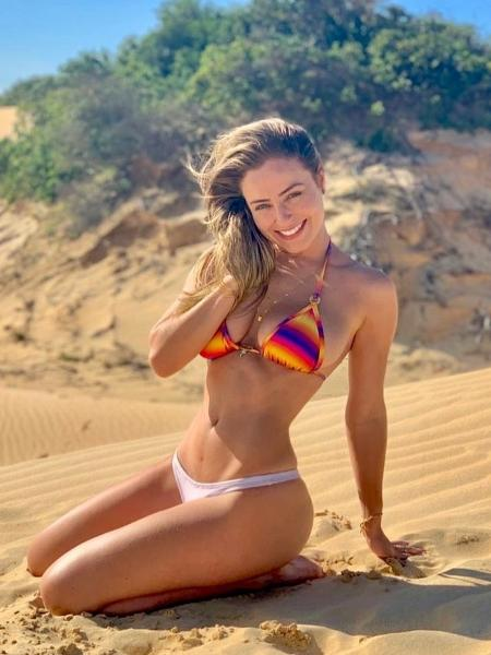 Paula Sperling reclamou de pedidos insistentes para mostrar o corpo no Instagram - Reprodução/ Instagram