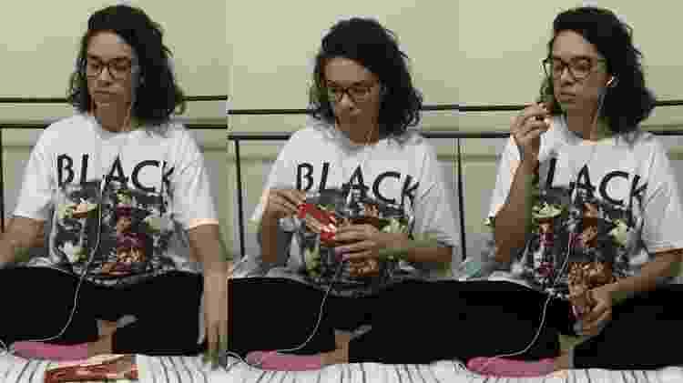 Experimenta Nathália Geraldo - Arquivo Pessoal - Arquivo Pessoal