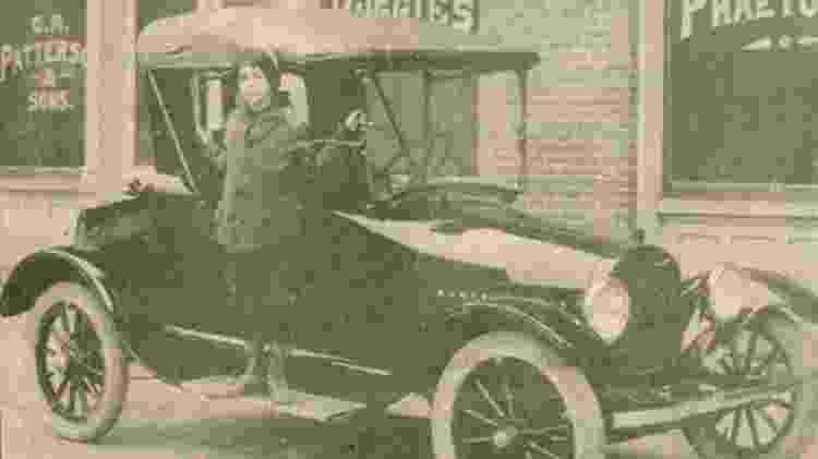 Charles Richard Patterson ex escravo dono de montadora Patterson-Greenfield - Reprodução/Sociedade Histórica de Greenfield - Reprodução/Sociedade Histórica de Greenfield