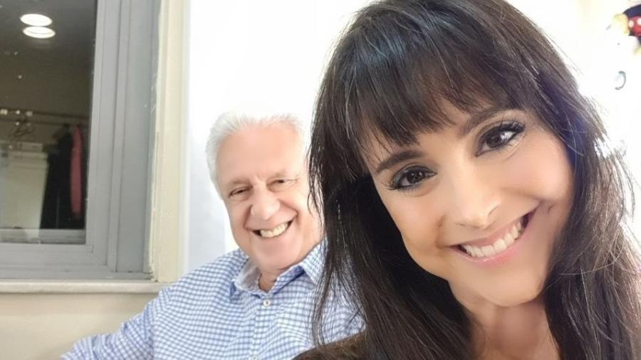 Antônio Fagundes e a mulher, Alexandra Martins - Reprodução/Instagram