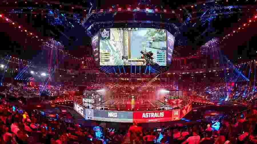 """NRG e Astralis se enfrentam na StarLadder Berlim 2019, um dos torneios """"Major"""" de Counter-Strike - Igor Bezborodov/StarLadder"""