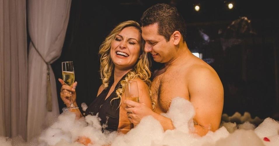 Andressa Urach posou com o marido Thiago Lopes