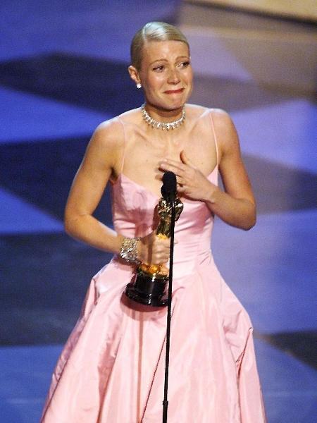 Gwyneth Paltrow ganha Oscar de Melhor atriz no Oscar de 1999 - AFP