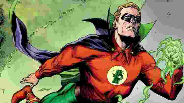Alan Scott, uma das versões do Lanterna Verde da DC, é gay - Reprodução - Reprodução
