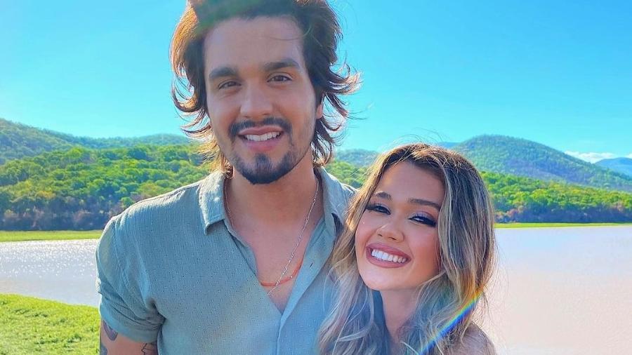 Rumores do romance surgiram no ano passado, após Luan Santana e Franciny Ehlke viajarem juntos pelo Pantanal - Reprodução/Instagram