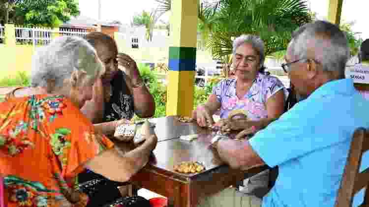 Idosos em Maués (AM) - Divulgação - Divulgação