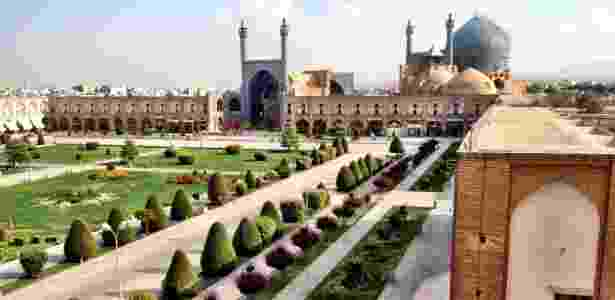 Praça de Isfahan, Irã - Marcel Vincenti/UOL - Marcel Vincenti/UOL