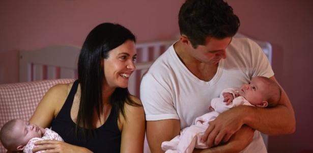 Mulheres acima dos 37 anos têm mais chances de ter gêmeos naturalmente - Getty Images