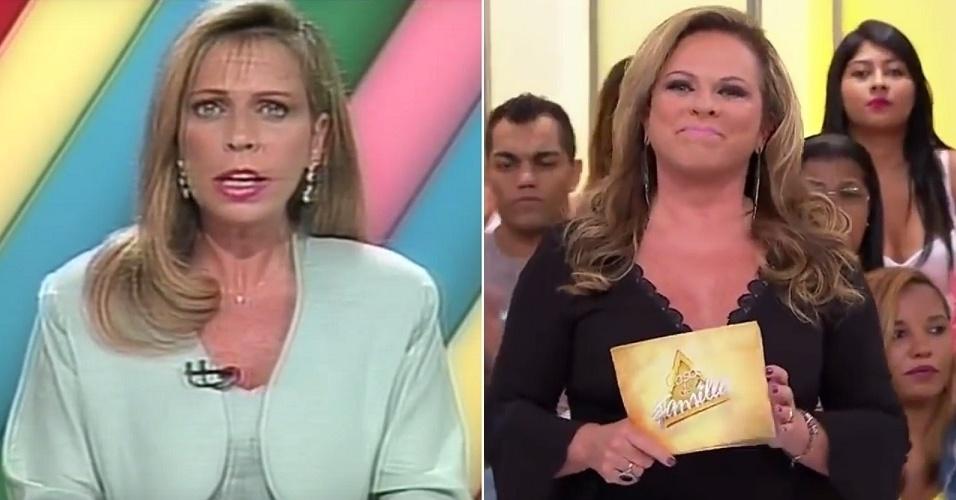 """Christina Rocha já trabalhava no SBT quando foi chamada para o """"Aqui Agora"""". Atualmente, apresenta o """"Casos de Família"""""""