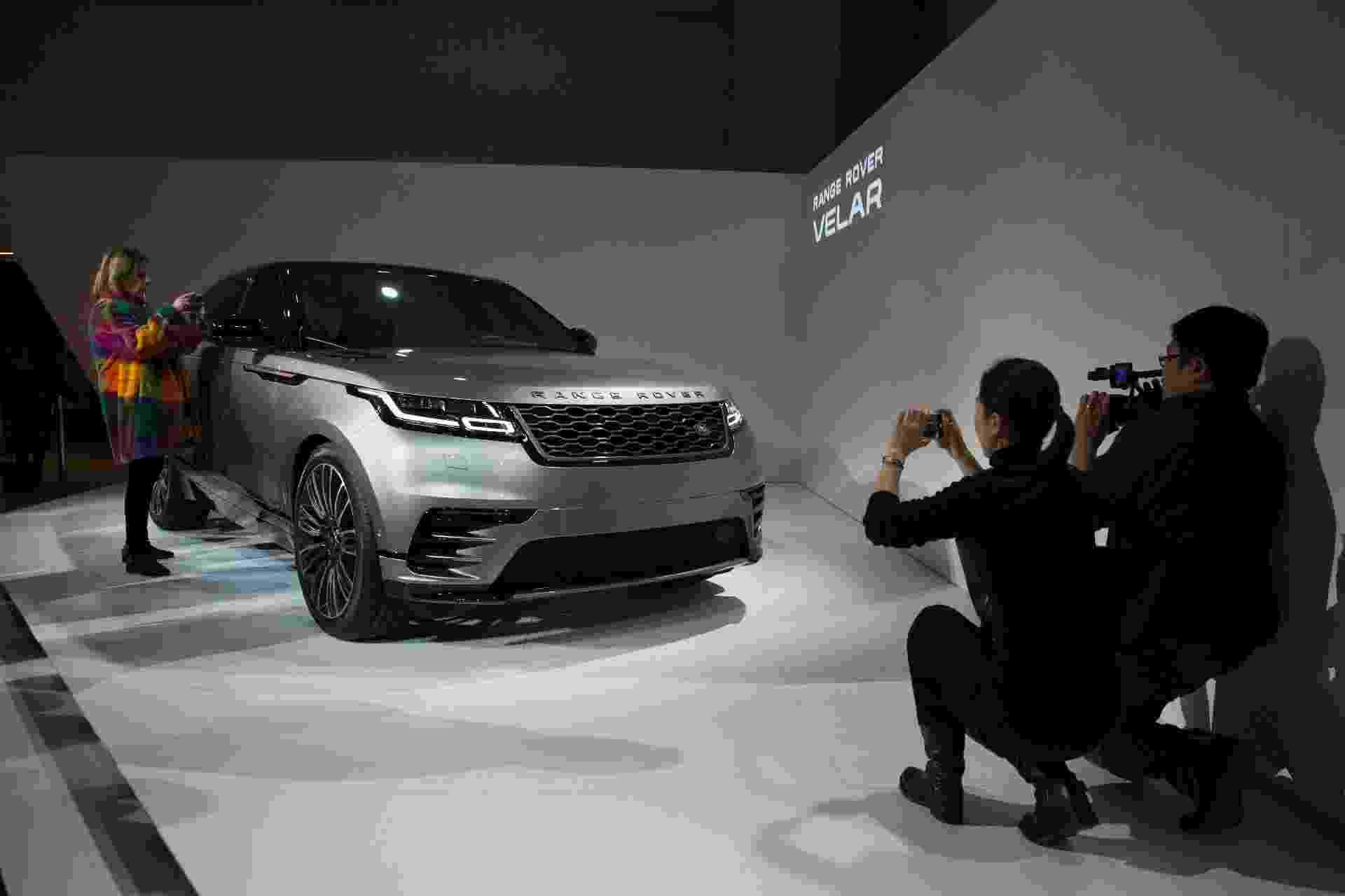 Range Rover Velar - Daniel Leal-Olivas/AFP