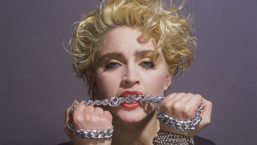 A cantora Madonna no início de carreira - Reprodução