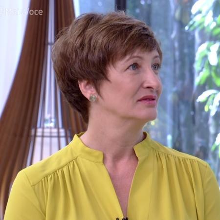 """Sônia Bridi no """"Mais Você"""" - Reprodução/Globo"""