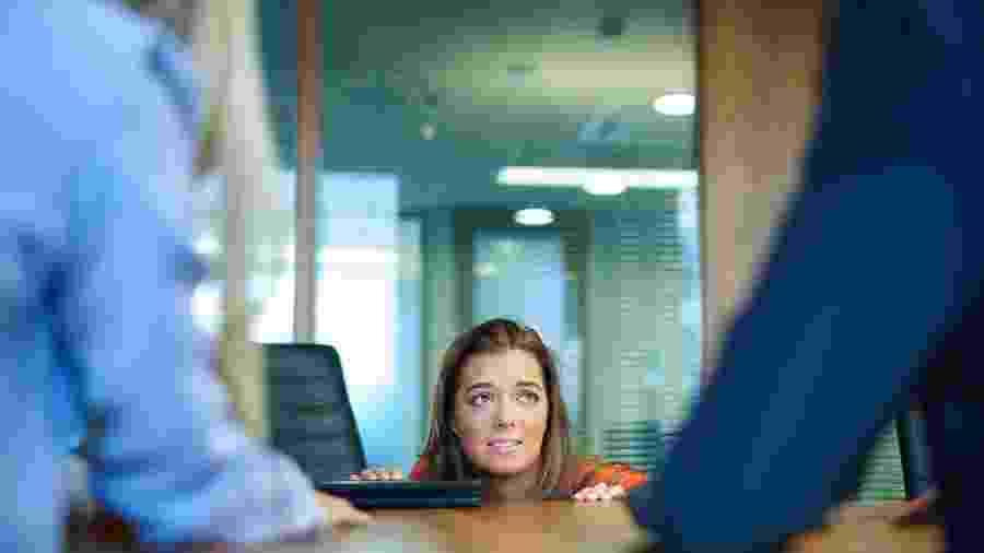 """Levar um """"não"""" na entrevista de emprego é duro, mas você pode aprender com isso - Getty Images"""