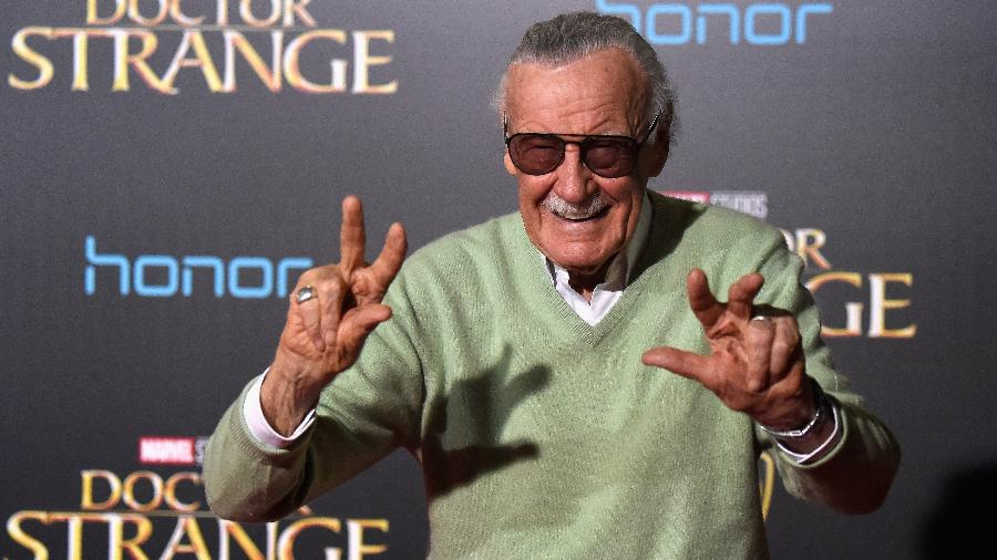 Stan Lee - Getty Images