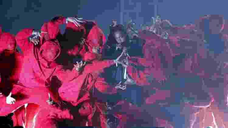 Kendrick Lamar durante a abertura do Grammy 2018 - REUTERS/Lucas Jackson - REUTERS/Lucas Jackson