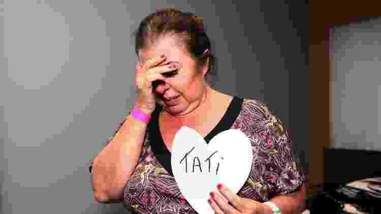 Mãe das irmãs Minerato, Silvia se emociona ao lembrar episódio que deixou Tati de fora do desfile - Iwi Onodera / UOL - Iwi Onodera / UOL