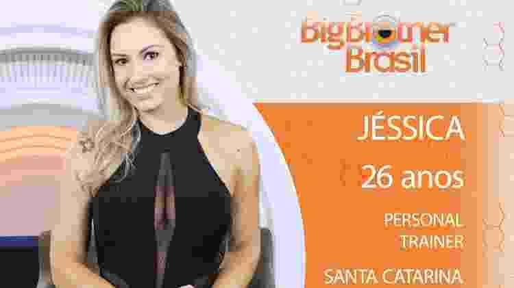 Jessica do BBB18 - Divulgação/TV Globo - Divulgação/TV Globo