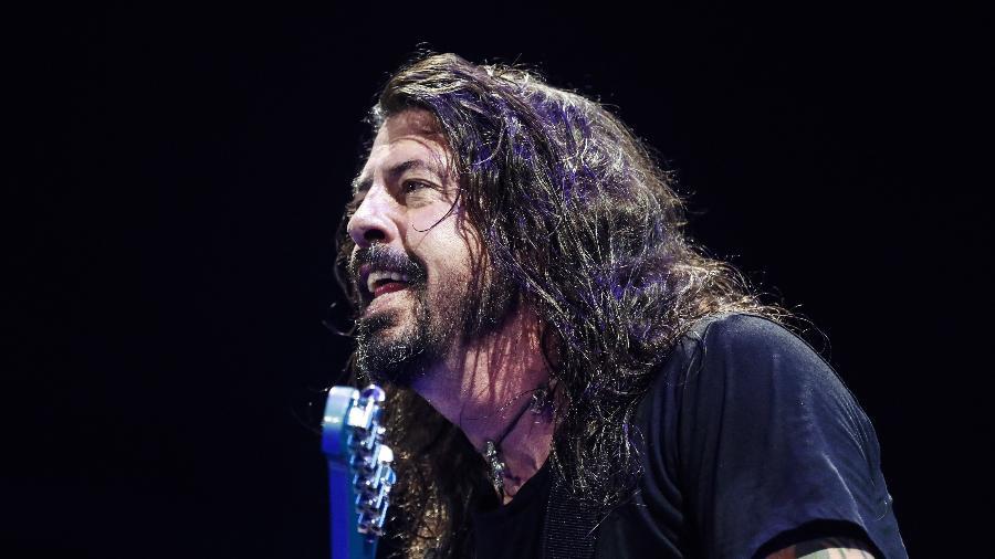 O ex-baterista do Nirvana, Dave Grohl - Lucas Lima/UOL