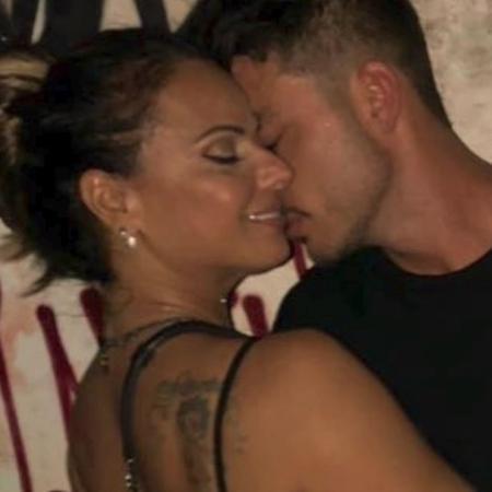Viviane Araújo e o namorado, o engenheiro Klaus Barros - Reprodução/Instagram