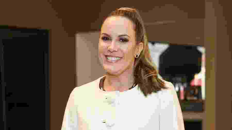 """A apresentadora Regina Volpato, do """"Mulheres"""", foi uma das convidadas da festa de Mirella Santos - Manuela Scarpa/Brazil News"""