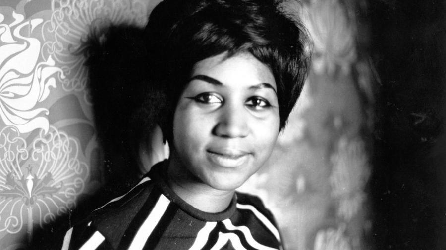 A cantora Aretha Franklin - Reprodução